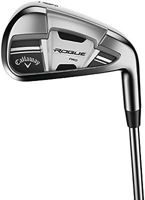 Amazon.com: Callaway Rogue Pro 7 hierro, acero, S300 ...
