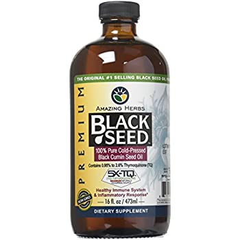 Amazon com: The Blessed Seed Strong Black Seed Oil 1000ml (Non-GMO