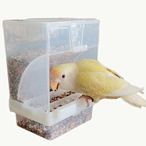 No-Mess Bird Feeder - Automatic Bird Feeder, Cage Accessorie