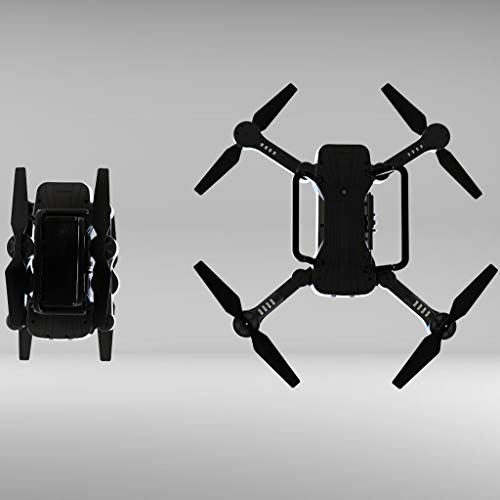 LikeroSimtoo 2.4GHz FPV WiFi 720P Camera Air Pressure Constant RC Drone Quadcopter,Beginners -Controlled Through The Mobile Phone App -One-Key Start&one-Key Landing (Black) by Likero (Image #7)
