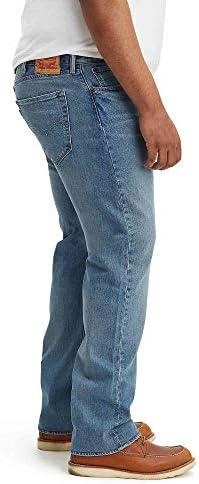 Levi's Men's Big and Tall 501 Original Fit Jean, The Ben - Stretch, 38W x 38L
