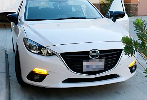 New Front Right Passenger Side Signal Lamp Assembly For 2014-2016 Mazda 3 Hatchback//Sedan MA2531119 B45A51350A
