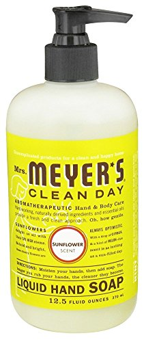 Mrs Meyers Hand Soap Sunflower 12.5 Ounce Pump