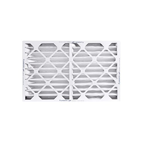 Flanders 80055.041625 40 High Quality Pleated LPD Panel Filters 6/Pack 25'' x 16'' x 4'' - Lot of 6 by Flanders