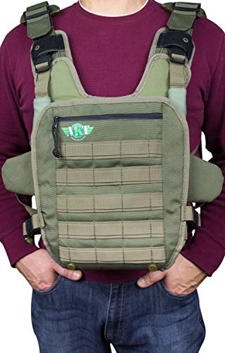 Baby Carrier for Men Front Baby Holder for Dad   Army Style Design   Front and Rear Facing Baby