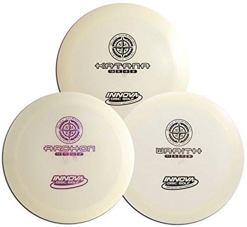 Innova Champion Glow Disc Golf Set - 3 Drivers Pack by Innova