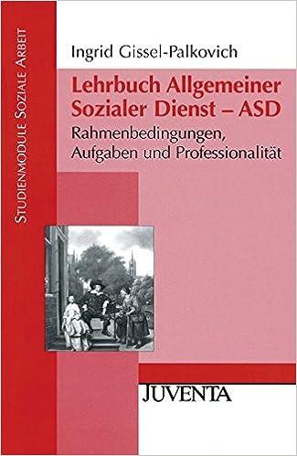 Lehrbuch Allgemeiner Sozialer Dienst Asd Rahmenbedingungen