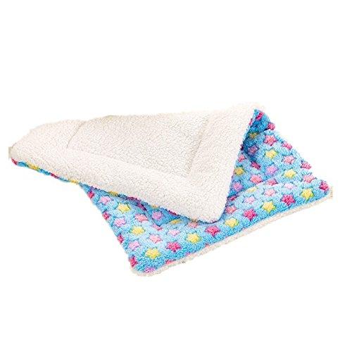 Harukokoro(TM)Premium Star Coral Velvet Smart Dirty Pet Blanket Dog Cat Mat, X Large, (Fluffy Electric Blanket)