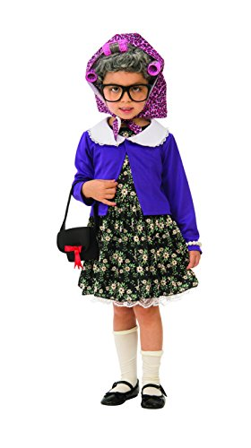 Rubie's Little Old Lady Child's Costume, X-Small -