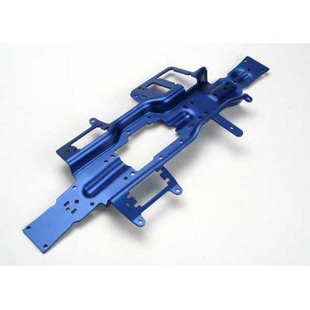- Traxxas Alum Revo 6061 T-6 Chassis, 3mm, Blue