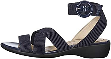 Women's Sandal 6 Lifestride W Flat Navy UsAmazon Us Temple 9EH2IYWD