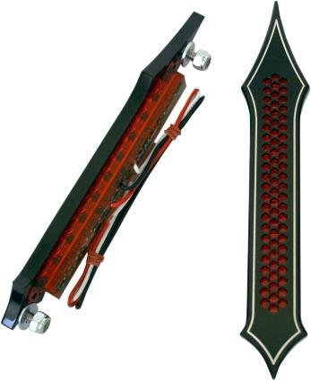 Accutronix Tribal Drilled Night Series Light with Red LED BL01-LDN