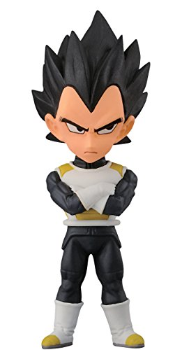 Banpresto Dragon Ball Z 2.8-Inch Vegeta Movie World Collectable Figure, Volume 3