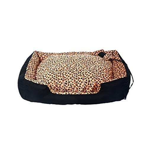 Xl FERZA petsuppliesmisc Removable kennel medium-sized large dog dog mat sofa four seasons pet warm dog bed (Size   Xl)
