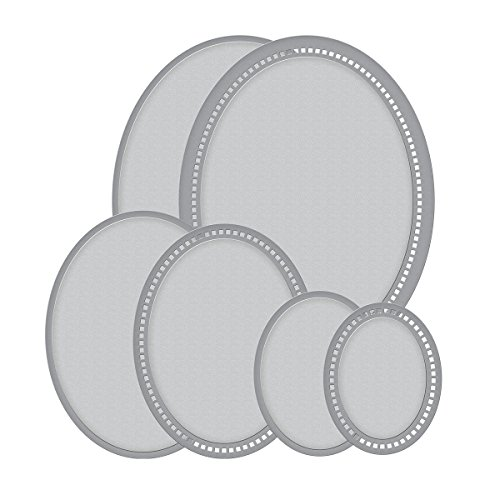 lities Hemstitch Ovals Chantilly Paper Lace Etched/Wafer Thin Dies ()