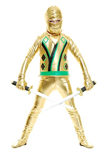 Little Boys' Toddler Gold Ninja Avengers Series III Costume Toddler (2T-4T)