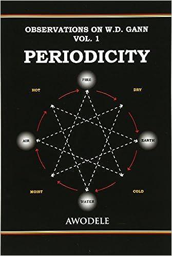Observations On W.D. Gann Vol. 1: Periodicity (Volume 1): Awodele:  9780692378694: Amazon.com: Books