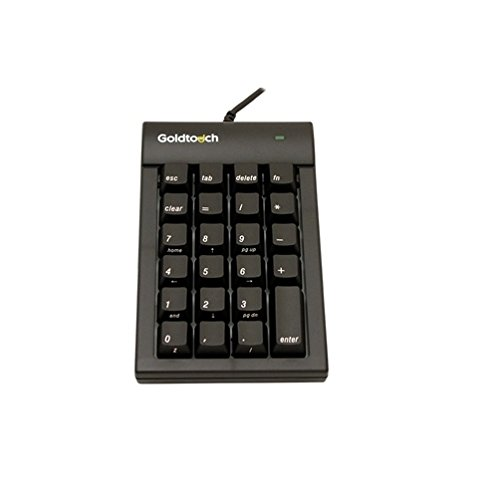 Plantronics GTC MACB Goldtouch Numberic Keypad black macintosh