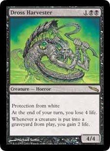Dross Harvester (Magic the Gathering : Mirrodin #63 Rare)