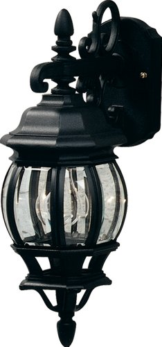 Cheap Artcraft Lighting Classico Small European Style Outdoor Wall Mount, Black