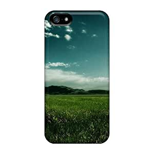 High Quality CC WalkingDead Run In The Fields Skin Case Cover Specially Designed For Iphone - 5/5s
