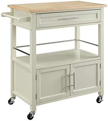 Linon Home Decor Products Marlow Kitchen Cart