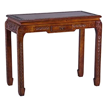 International Caravan ZM-3816-ST-IC Furniture Piece Windsor One Drawer Ming Console Table