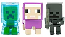 Minecraft Charged Creeper, Sheep, & Whither Skeleton Figure