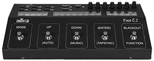 CHAUVET DJ Foot-C2 Stage Lighting Controller by CHAUVET DJ