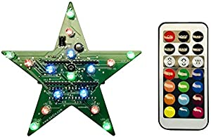 Gadjix Electronic Star Ornament (Green)