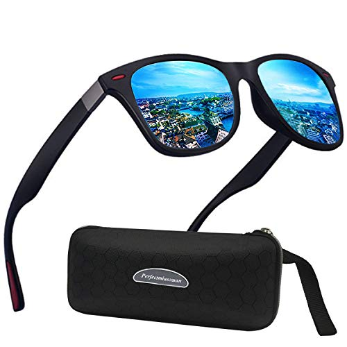 Polarisierte Sonnenbrille Herren Damen Luxus Retro Sonnenbrille Männlich/Sport im Freien Golf Radfahren Angeln Wandern Eyewear Sonnenbrille