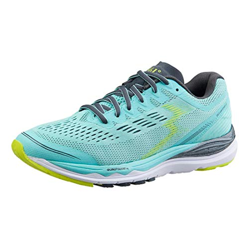 361 Women's Meraki 2 Running Shoe, Aruba Blue/Ebony 6.5 D US
