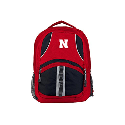 The Northwest Company Nebraska Cornhuskers Backpack Captain Style Red and -