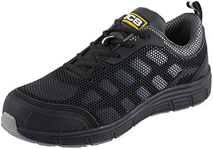 JCB CAGELOW Black Safety Sports Shoes