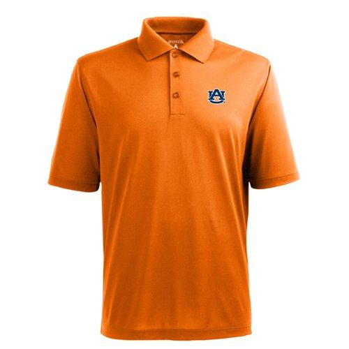 - NCAA Men's Auburn Tigers Pique Xtra Lite Desert Dry Polo (Mango, Small)