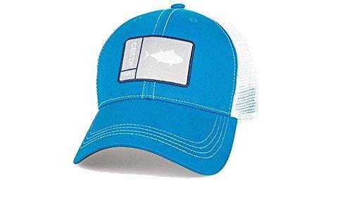 - Costa Del Mar Original Patch Tuna Costa Blue/White New 2017 Hat
