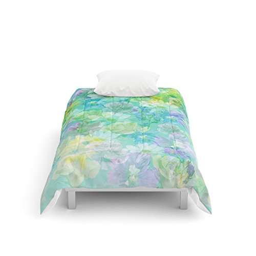 Enchanted Twin Comforter - Society6 Enchanted Spring Floral Abstract Comforters Twin XL: 68