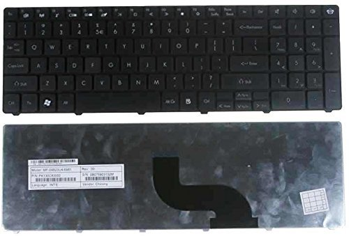KENAN New Laptop Keyboard for Gateway NEW95 NEW90 PEW71 PEW72 PEW76 PEW91 P5WS6 MS2291 MS2230 US layout Black color