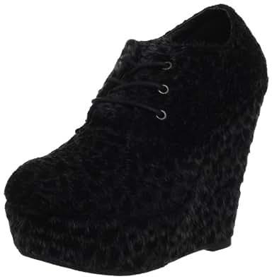 Fahrenheit Women's Brooklyn-05 Ankle Boot,Black,6.5 M US