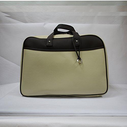 Bolso maleta maternidad Baby Star color Arena/Choco