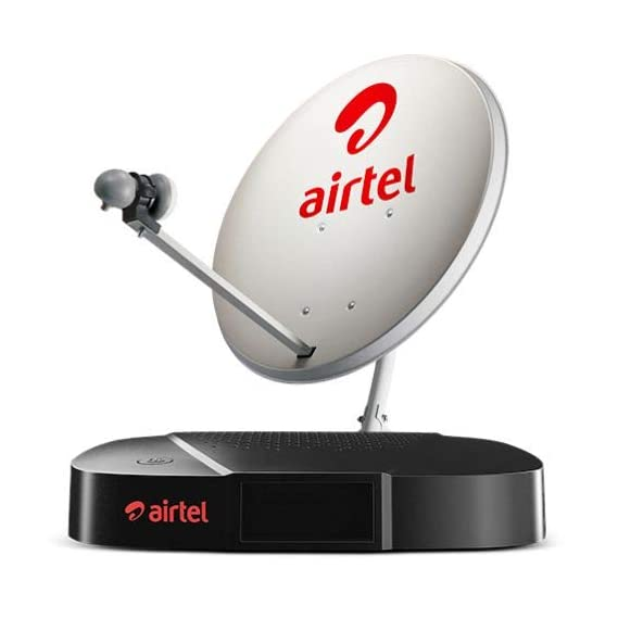 Airtel Digital TV SD Set Top Box with 1 Month FTA Pack
