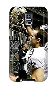 Slim Fit Tpu Protector Shock Absorbent Bumper New Orleansaints Case For Galaxy S5