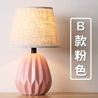 Macarons Nordic lámpara de mesa de cerámica moderna minimalista ...