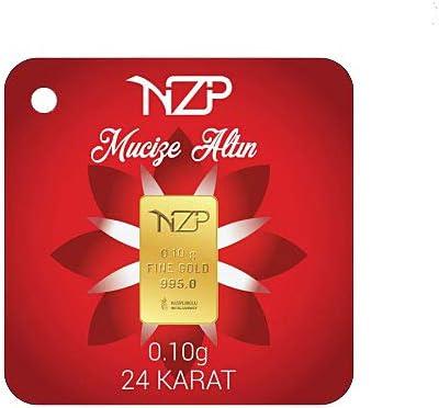 Nzp Goldbarren 0,10 Gramm Goldbarren, 0,10g Gold, Feingehalt 995