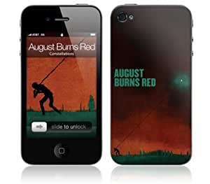 Zing Revolution MS-ABR10133 iPhone 4- August Burns Red- Constellations Skin by icecream design