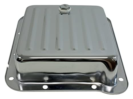 Ford C4 Steel Transmission Pan Pan Fill Style