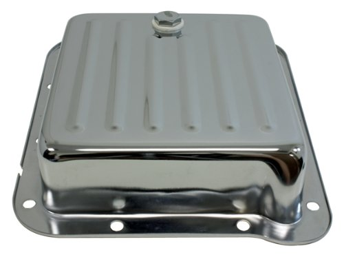 - Ford C4 Steel Transmission Pan (Pan Fill Style) - Chrome