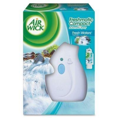 Reckitt & Benckiser Air Wick - RECKITT BENCKISER (H)AIR WICK AIR FRSHR MET DISP KIT MINI 0.8OZ FR 85576 per CASE