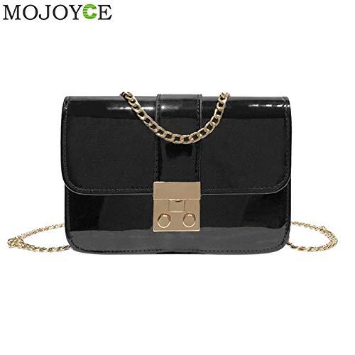 Amazon.com: Patent Leather Mini Bag Womens CrossBody Bags ...