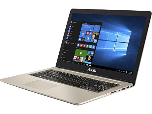 "CUK ASUS VivoBook Pro Gamer Notebook (Intel i7-7700HQ, 32GB DDR4 RAM, 256GB NVMe SSD + 2TB HDD, NVIDIA GTX 1050 4GB, 15.6"" Full HD IPS, Windows 10 Home) - Best Gaming Laptop Computer"